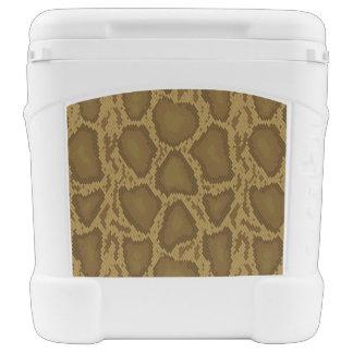 Snake skin, reptile pattern cooler