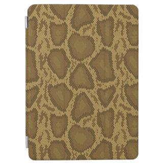 Snake skin, reptile pattern iPad air cover