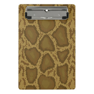 Snake skin, reptile pattern mini clipboard