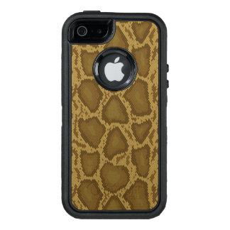 Snake skin, reptile pattern OtterBox iPhone 5/5s/SE case