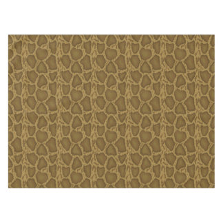Snake skin, reptile pattern tablecloth