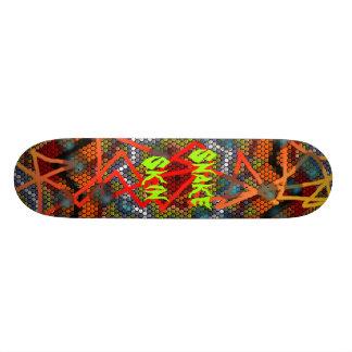 Snake Skin Custom Skate Board