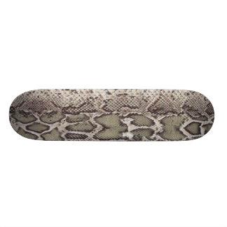 Snake Skin Skateboard