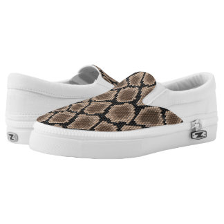 Snake skin Slip-On shoes