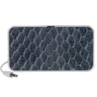 snake skin mini speaker