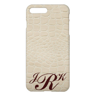 Snake Skin with Monogram iPhone 7 Plus Case