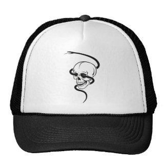 Snake & Skull Cap