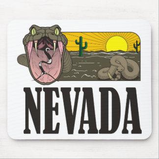 Snake State of Nevada USA: Rattlesnake and desert Mousepads