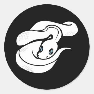 Snake Sticker - Adi the Sleepy Snake