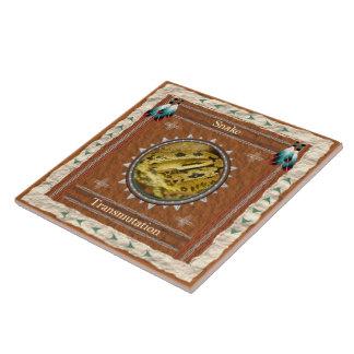 Snake  -Transmutation- Ceramic Tile