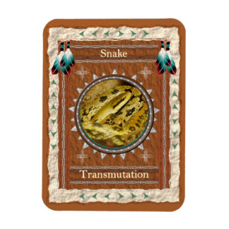 Snake  -Transmutation- Vinyl Flexi Magnet