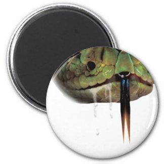 Snake Venom Bite Face Magnet