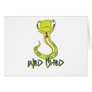 Snake WC Greeting Card