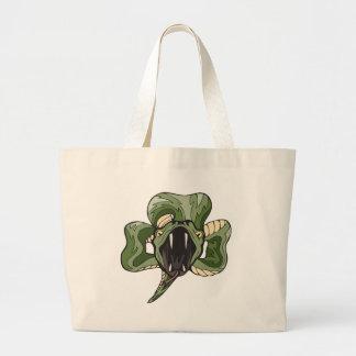 snakerock jumbo tote bag