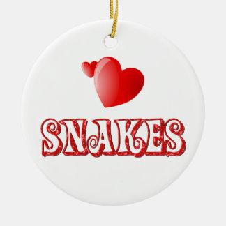 Snakes Christmas Ornament