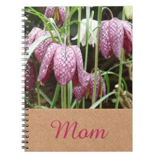 Snakes Head Fritillary Flowers Notebook