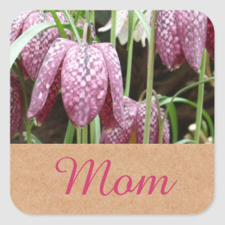 Snakes Head Fritillary Flowers Stickers