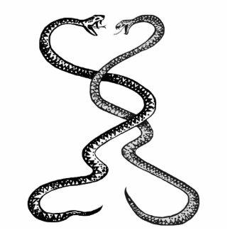 Snakes in combat, big magnet sculpture photo sculpture magnet