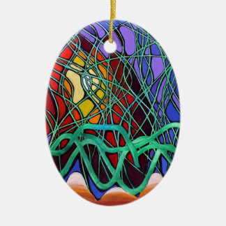 Snakes in the Grass Christmas Tree Ornament