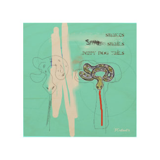 Snakes Snails & Puppy Dog Tails wall art