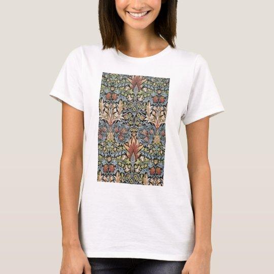 Snakeshead design by William Morris T-Shirt