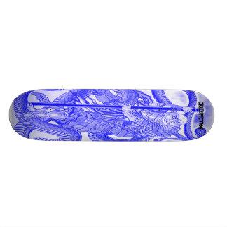 snakeskateboard, CRUZIFICTION Skate Board Decks