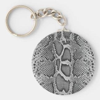 Snakeskin design, Snake Skin Print Pattern Basic Round Button Key Ring