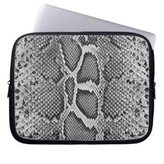 Snakeskin design, Snake Skin Print Pattern Laptop Computer Sleeve