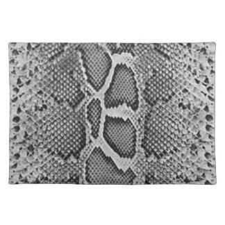 Snakeskin design, Snake Skin Print Pattern Placemat