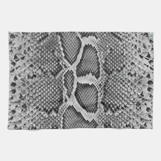 Snakeskin design, Snake Skin Print Pattern Tea Towel