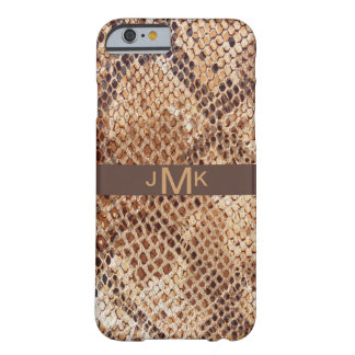 Snakeskin Python Print Barely There iPhone 6 Case