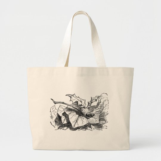 Snap Dragon Fly Large Tote Bag