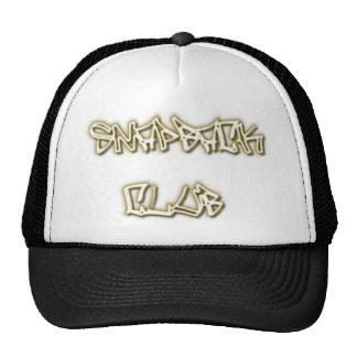 SNAPBACK CLUB hat-Flat Bill Cap