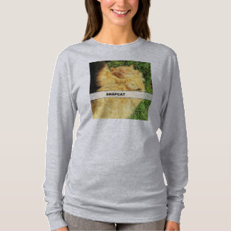Snapcat Orange Kitty Selfy T-Shirt
