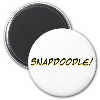 Snapdoodle! Refrigerator Magnet