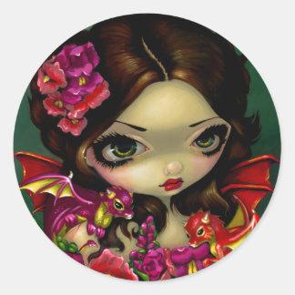 """""""Snapdragon Fairy"""" Sticker"""