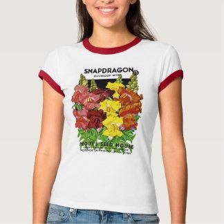 Snapdragon Vintage Seed Packet T-Shirt