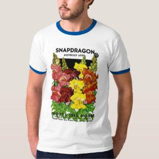 Snapdragon Vintage Seed Packet Tees