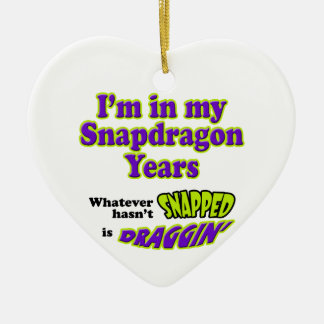 Snapdragon Years Christmas Ornament