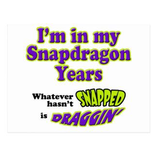 SnapdragonYears Postcard