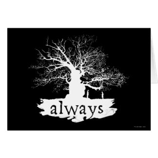 Snape And Lily - Always Greeting Card