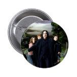 Snape Hermoine Ron Harry 6 Cm Round Badge