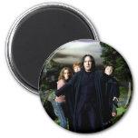 Snape Hermoine Ron Harry 6 Cm Round Magnet