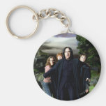 Snape Hermoine Ron Harry Basic Round Button Key Ring