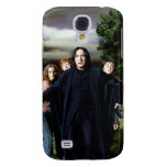 Snape Hermoine Ron Harry Galaxy S4 Case