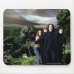Snape Hermoine Ron Harry Mouse Mat