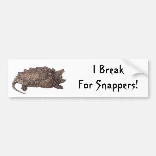 Snapper Bumper Sticker