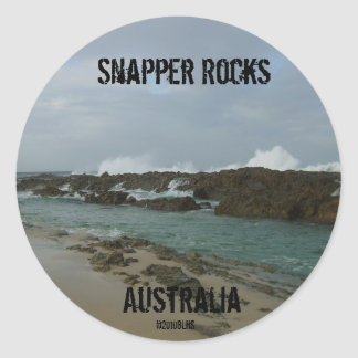 Snapper Rocks sticker