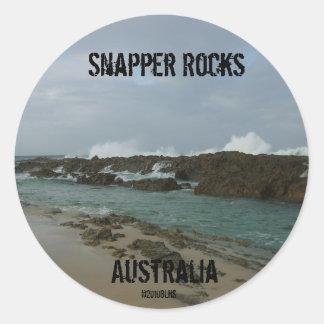 Snapper Rocks sticker