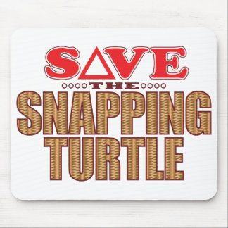 Snapping Turtle Save Mouse Mat